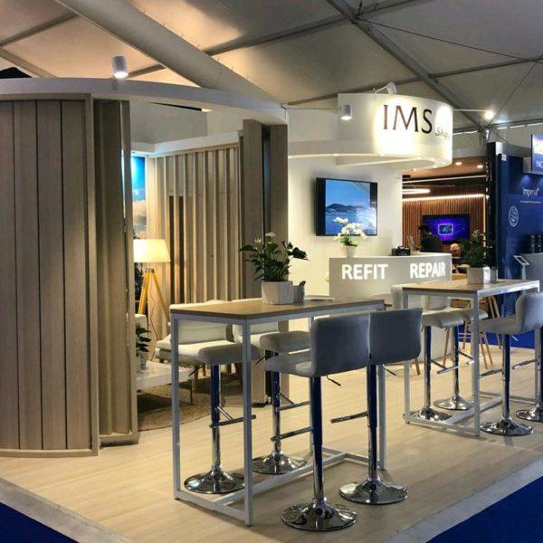 IMS SHIPYARD - stand Sillage Design - Monaco Yacht Show